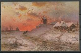 Ansichtskarten -  J. Von Klever.  Das Abendrot - Russie