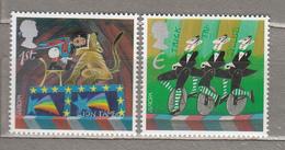 EUROPA 2002 Cirkus Great Britain Mi 2004 - 2005 MNH (**) #19095 - Circus