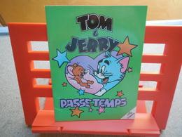 Tom Et Jerry Passe Temps, Cahier Jeux 1989, Rare...3C0420 - Autocollants