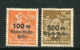 ALLEMAGNE- Empire- Y&T N°251 Et 251A- Neufs Avec Charnière * - Neufs