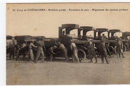 Guer Camp De Coetquidan Artillerie Portée Formation Du Parc - Guer Coetquidan