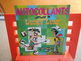 Dargaud, Lucky Luke Autocollants Jeux 2, éditions Lito-paris, 1985...3C0420 - Autocollants