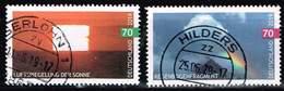 Bund 2019,Michel# 3441 - 3442 O  Atmosphärische Erscheinungen - [7] Federal Republic