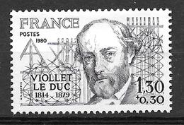 FRANCE 2095 Eugène Viollet-le-Duc . Architecte . - Gebruikt
