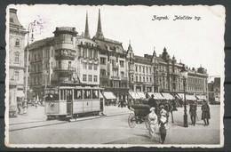 Ansichtskarten - Zagreb - Tramway - Kroatien
