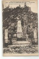 25 Environs De Pontarlier La Cluse Monument Commemorant La Bataille De 1870 - Pontarlier
