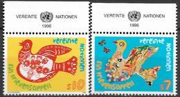 1996 UNO  Wien   Mi. 216-7**MNH   Friedensappell - Centre International De Vienne