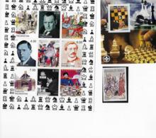 Nice Lot Chess Ajedrez Schach Schaken Echecs; Senegal Has White Edges, Not Coloured Lik The S/s - Chess
