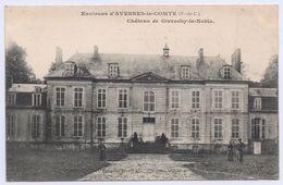 62 AVESNES LE COMTE - 2 Cartes Postales - Château De Lignereuil. Courrier De 1908 - Avesnes Le Comte