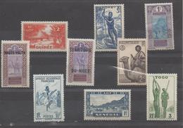 Timbres Divers - A.O.F. (1934-1959)
