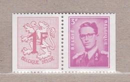 1969 Nr 1485d** Postfris Zonder Scharnier, Zegel Uit Postzegelboekje.OBP 2,75 Euro. - Belgique
