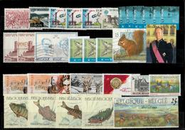 Belgium - Small Lot Of Used Stamps - 4 SCANS - Stamps