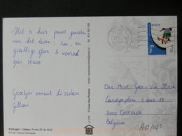 A12/022   CP PORTUGAL POUR LA BELG. - 1910-... République