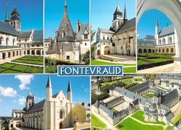 49 - Fontevraud L'Abbaye - Abbaye Royale De Fontevraud - Multivues - Frankrijk