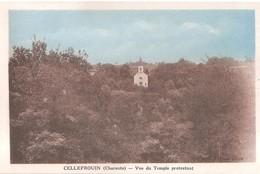 CELLEFROUIN  - Le Temple Protestant - France
