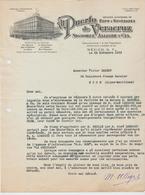 MEXIQUE: Signoret & Allègre, AL PUERTO De VERACRUZ, Ropas Y Novedades / L. De 1933 > Nice - Rechnungen