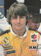 (VIR)RENE ARNOUX , Pilote De La Formule 1 - Grand Prix / F1
