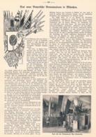 398 München Armeemuseum Bayern Artikel Mit 4 Bildern 1905 !! - Revues & Journaux