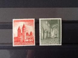Mi.514/515** Basilika Von Echternach. - Luxembourg