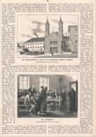 402 München Franziskaner Brauerei Artikel Mit 3 Bildern 1881 !! - Revues & Journaux