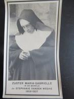 Dp Foto Zuster Maria Gabrielle  Oost Vleteren Braine Le Comte - Religion & Esotericism