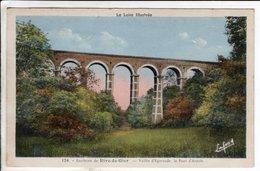 Cpa Rive De Gier Le Pont D Arcole - Rive De Gier