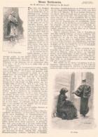 406 Wien Bettlerwesen Bettler Artikel Mit 7 Bildern 1894 !! - Revues & Journaux