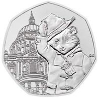 UK GREAT BRITAIN - GRANDE BRETAGNE - Großbritannien 50 PENCE PADDINGTON BEAR SAINT PAULS CATHEDRAL UNC 2019 - 50 Pence