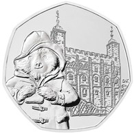 UK GREAT BRITAIN - GRANDE BRETAGNE - Großbritannien 50 PENCE PADDINGTON BEAR TOWER OF LONDON UNC 2019 - 50 Pence