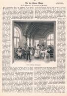 412 Wien Wienerwald Leopoldsberg Waldschnepfe Artikel Mit 7 Bildern 1892 !! - Revues & Journaux