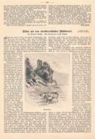 417 Gause Oberösterreich Mühlviertel Artikel Mit 7 Bildern 1899 !! - Revues & Journaux