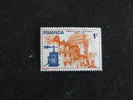 RWANDA YT 724 NSG - CENTENAIRE PREMIERE LIAISON TELEPHONIQUE - ANCIEN TELEPHONE - Rwanda
