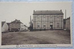 CPA SAINT MARTIN BALATRE Région Mazy Jemeppe Sur Sambre Sombreffe Place Rue Tienne Jean Malaute Camionette Truck - Jemeppe-sur-Sambre