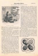 421 Österreichische Ostereier Ostern Artikel Mit 4 Bildern 1898 !! - Revues & Journaux