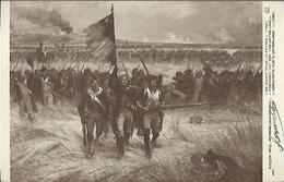 4043 Militaria - Salon 1910 - Raymond Desvarreux - En Avant Pour La Patrie - Pintura & Cuadros