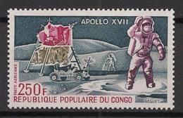 Congo - 1973 - Poste Aérienne PA N°Yv. 157 - Apollo XVII - Neuf Luxe ** / MNH / Postfrisch - Space