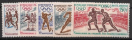 Congo - 1971 - Poste Aérienne PA N°Yv. 129 à 133 - Jeux Olympiques - Neuf Luxe ** / MNH / Postfrisch - Congo - Brazzaville