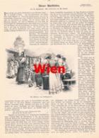 429 Wien Marktleben Fisch Blumen Geflügel Artikel Mit 5 Bildern 1895 !! - Revues & Journaux
