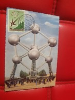 CP NON VOYAGE CARTE MAXIMUM Exposition Universelle Bruxelles 1958 Republica Saint Marino - 1935 – Brussels (Belgium)