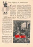 431 Wien Hausmeister Hausmeisterinnen Artikel Mit 8 Bildern 1898 !! - Revues & Journaux