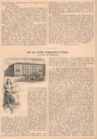 434 Leipzig Deutsches Reichsgericht Gericht Artikel Mit 2 Bildern 1879 !! - Other