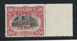 Bezettingszegel Nr. 60 Postfris Met Bladboord - [OC55/105] Eupen/Malmedy