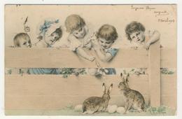 R.R.v. Wichera - Enfants Et Lièvre - Wichera