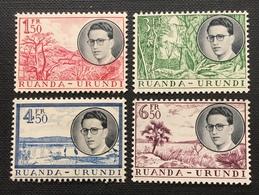 OBP 196 -199 - Ruanda-Urundi