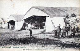 Ecole De Tir De La Chasse à BISCAROSSE  Les Hangars Destinés Aux Avions - Regimientos