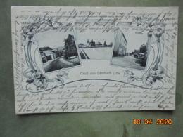 Gruss Aus Lembach I. Els. Kirche. Schule. Verlag Von Leoni Levy PM 1908 - France