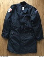 Manteau Avec Sa Doublure Police Nationale Réformé Année 1992 Pour Collection - Taille 104-108 (52/54) - Polizia