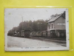 Liffré ,gare De Mi-Forêt ,train - Autres Communes