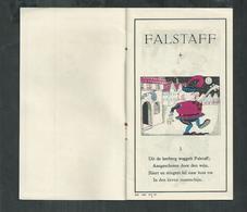 Falstaff Een Leerzame Gebeurtenis Publicité Aspirine Bayer , - Publicidad