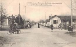 33 LEGE Croisement Des Routes D'Arès Au Porge Et De La Gare Au Bassin D'Arcachon - France